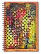 Embossed Blocks Encaustic Spiral Notebook
