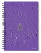 Embossed Bouquet  Spiral Notebook