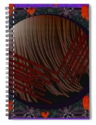 Embrace Our Earth With Love Pop Art Spiral Notebook
