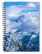 Embraced By Clouds Spiral Notebook
