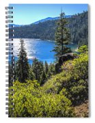 Emerald Bay Lake Tahoe California Spiral Notebook