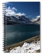 Emerald Blue Waters Spiral Notebook