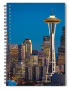 Emerald City Evening Spiral Notebook