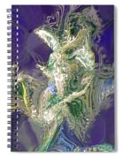 Emerald Elemental Spiral Notebook