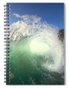 Emerald Flare Spiral Notebook