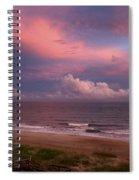 Emerald Isle Sunset Spiral Notebook