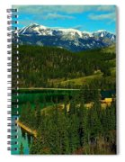 Emerald Lake - Yukon Spiral Notebook