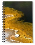 Emerald Pool Yellowstone National Park Spiral Notebook