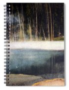 Emerald Pool Yellowstone Np 1928 Spiral Notebook