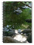 Emerald Waters Spiral Notebook