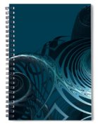 Emerging From The Depth Spiral Notebook