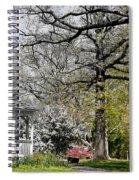 Emerging Of Spring Spiral Notebook