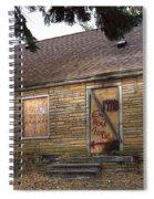 Eminem's Childhood Home Taken On November 11 2013 Spiral Notebook