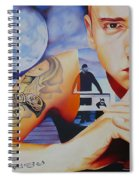Eminem Spiral Notebook