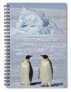 Emperor Penguins Spiral Notebook