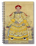 Emperor Qianlong In Old Age Spiral Notebook