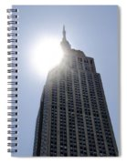 Empire State At Hign Noon Spiral Notebook