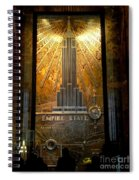 Empire State Building - Magnificent Lobby Spiral Notebook