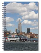 Empire State From The Water Spiral Notebook