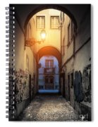 Empty Alley Spiral Notebook