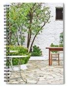 Empty Cafe Spiral Notebook