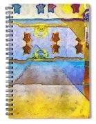 Empty Stage Spiral Notebook
