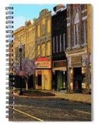 Empty Town 2 Spiral Notebook