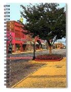 Empty Town Spiral Notebook