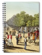 Encampment Of The British Army Spiral Notebook