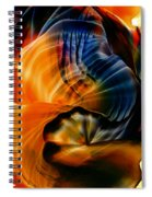 Encaustic 1381 Spiral Notebook