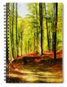 Enchanted Forest - Drawing  Spiral Notebook
