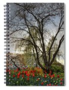Enchanted Garden Spiral Notebook