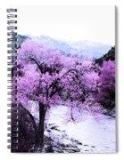 Enchanted Pink Spiral Notebook