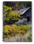 Enchanted Spaces Cabin In The Woods 2 Spiral Notebook