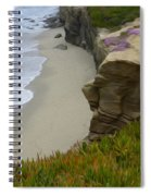 Enchanted Spaces California La Jolla Spiral Notebook