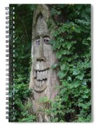 Enchanted Tree In The Forest Spiral Notebook
