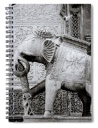 The Indian Elephant Spiral Notebook