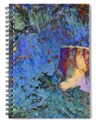 Enchanting Snow Forest Spiral Notebook
