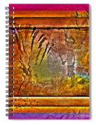 Encounter With The 5th Dimension Spiral Notebook