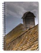 End Of An Era Roof Detail Spiral Notebook