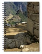 End Of Inca Trail Spiral Notebook