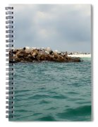 End Of The Jetty Spiral Notebook