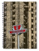 End Of The Line At Long Branch Spiral Notebook