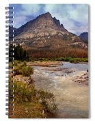 End Of The Road Mountain Spiral Notebook