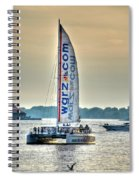 End Of The Tour Back To Shore Spiral Notebook