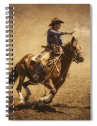 End Of Trail Mounted Shooting Spiral Notebook