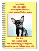 End The Puppy Mills Spiral Notebook