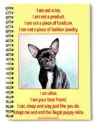 End The Puppy Mills Spiral Notebook