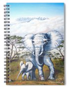 Endangered Spiral Notebook