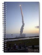 Endeavour Liftoff For Sts-59 Spiral Notebook